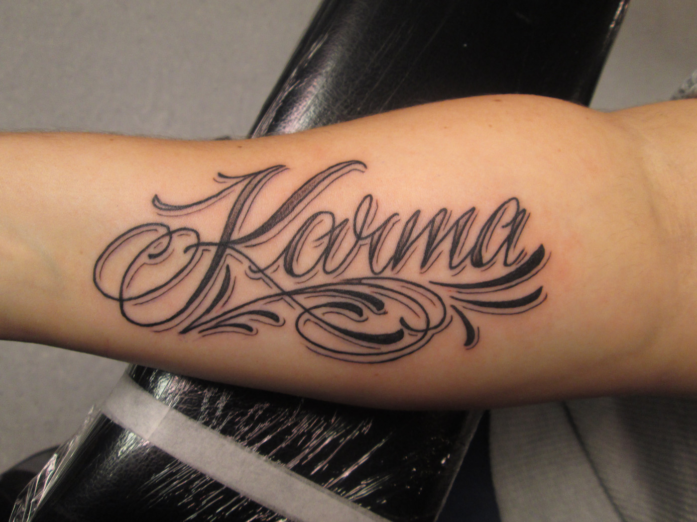 karma tattoo designs gallery